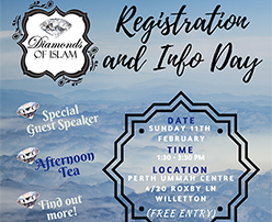 Diamonds of Islam - Registration and Info Day