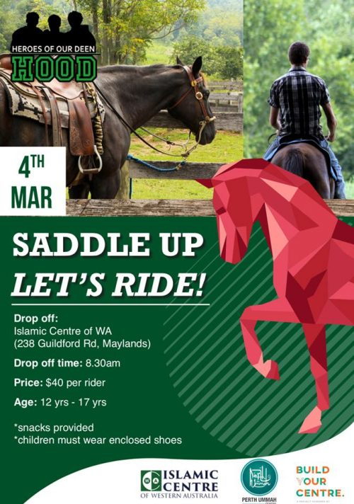 Saddle Up Let's Ride!