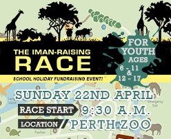The Iman-Raising Race for Youth!