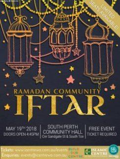 Ramadan Community Iftar 2018