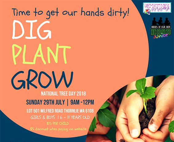 DIG PLANT GROW