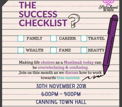 Friday Night Sisters Social - THE SUCCESS CHECKLIST