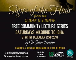 Lecture Series: Signs of the Hour