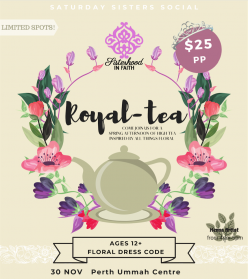 Royal-Tea : Saturday Sisters Social